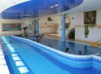 Pool von Hotel Panorama in Balatongyörök / Ungarn
