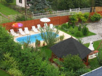 Villa Veronika - Pension - Balatonfüred - Garten und Pool